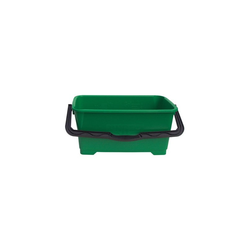 Seau vitre vert Unger 28L