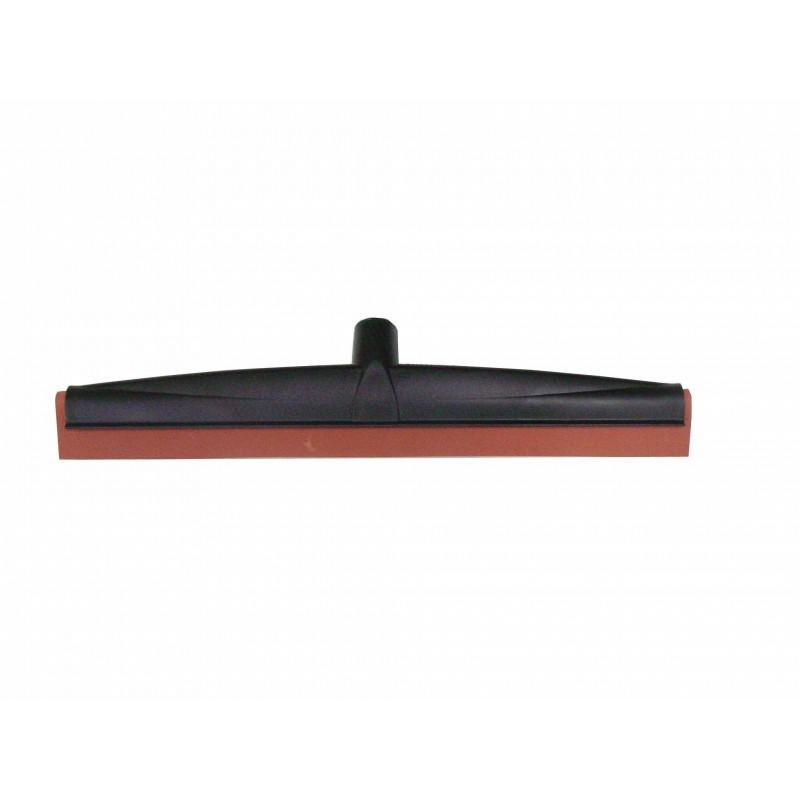 Raclette sol industriel polypro mousse rouge 45cm à vis