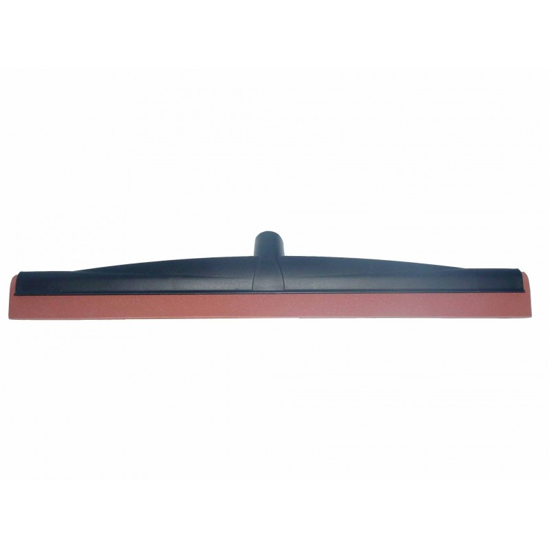 Raclette sol industriel polypro mousse rouge 55cm à vis