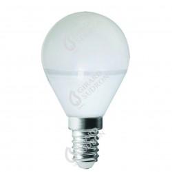 Lampe sphérique led 330° e14 5w 4000k