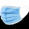 Masque chirurgien 3 plis avec élastiques (x50)