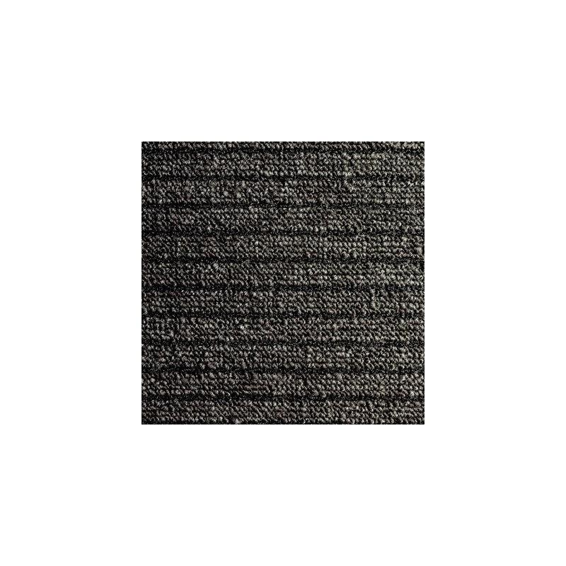Tapis nomad aqua 45 noir rouleau 1.30 x 20.00