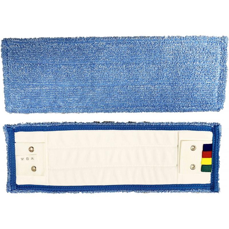 Frange de lavage mf super glisse bleu poches-languettes 40cm