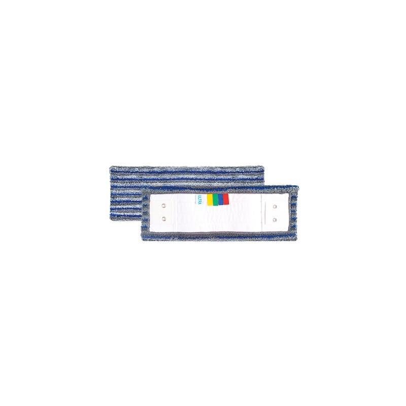 Frange de lavage microfibre ultra grattante poche/languette 40cm
