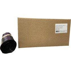 Sacs conteneur 340L noir 45µ (x100)