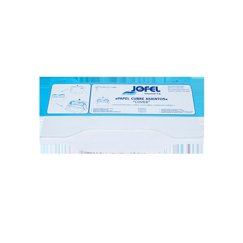Recharge papier pour distributeur couvre siège (x12)
