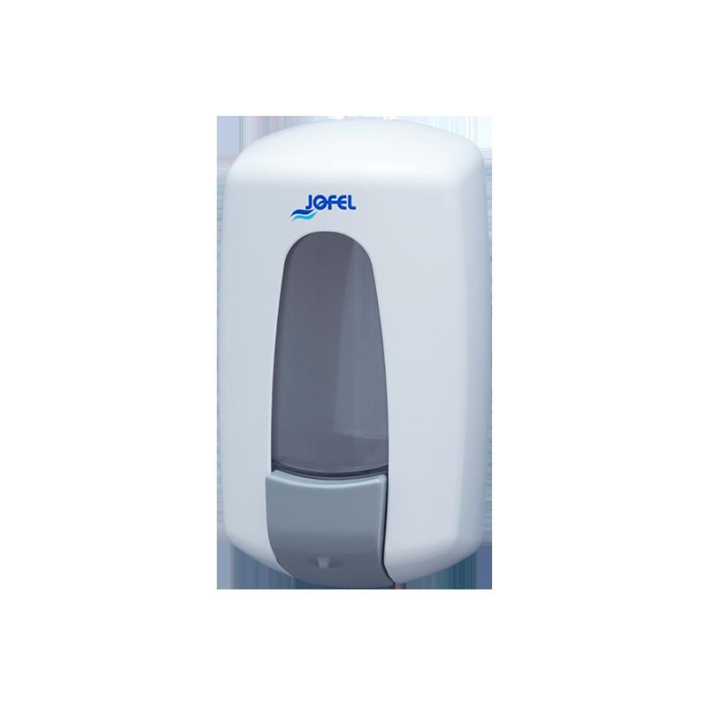 Distributeur savon mains liquide 1L blanc ABS