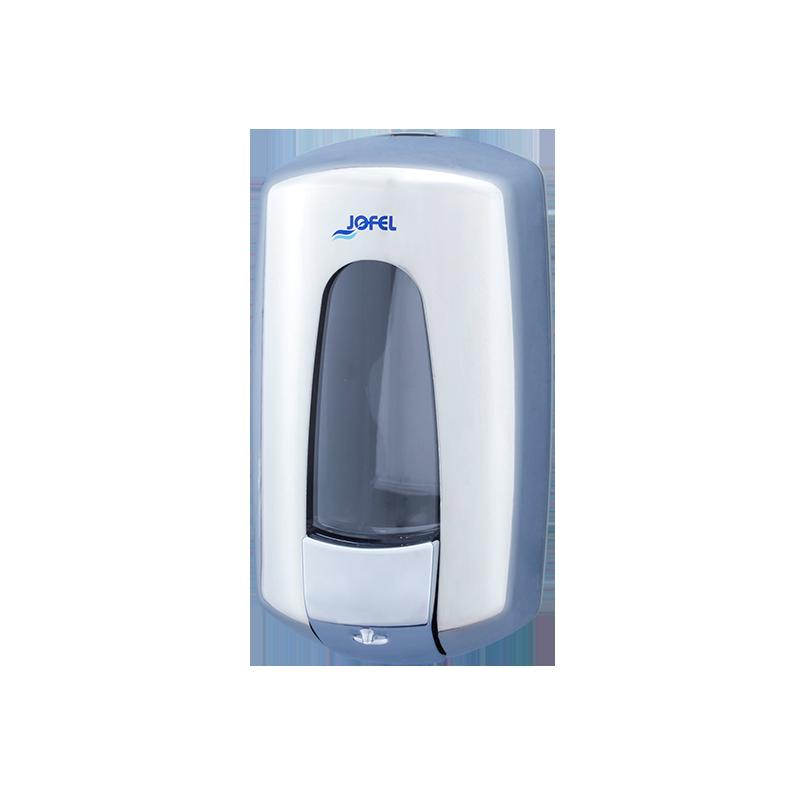 Distributeur de savon mains liquide 1L inox