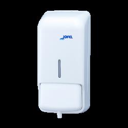 Distributeur de savon mousse 0.8L blanc ABS