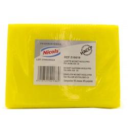 Lavette Niconette 80Gr jaune (x25)