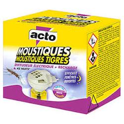 Anti moustiques diffuseur + rechage 45 nuits Acto