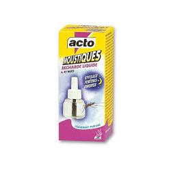 Anti moustiques liquide recharge 45 nuits Acto +