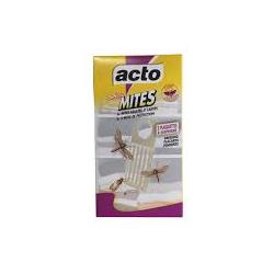 Cassette insecticide spécial mites textiles Acto