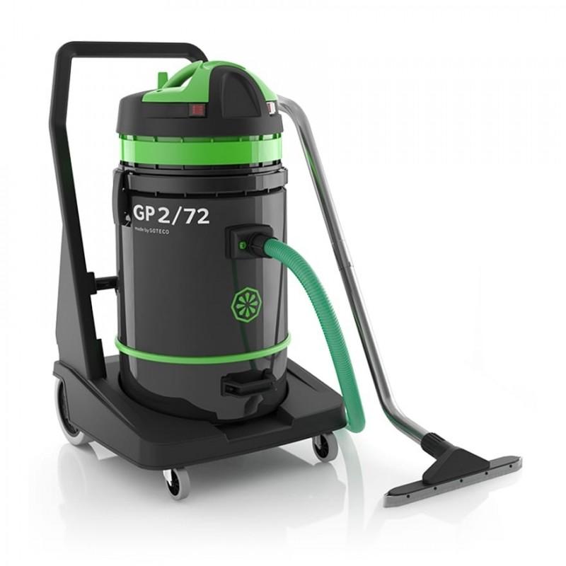Aspirateur eau et poussières professionnel Ica GP 2/72