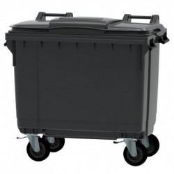 Bac conteneur 660L  pour ordures ménagères