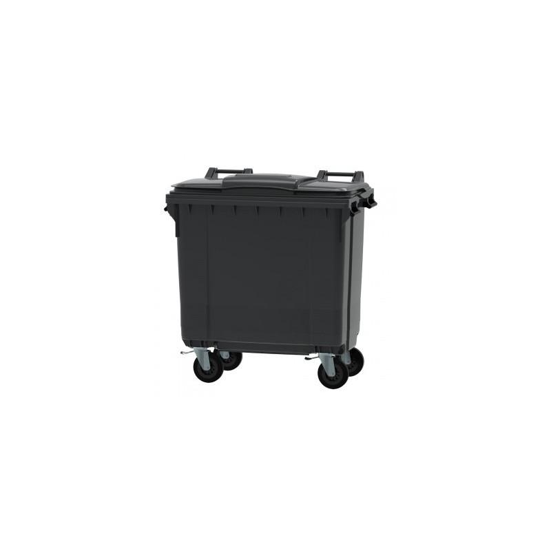 Bac conteneur 4 roues 770L