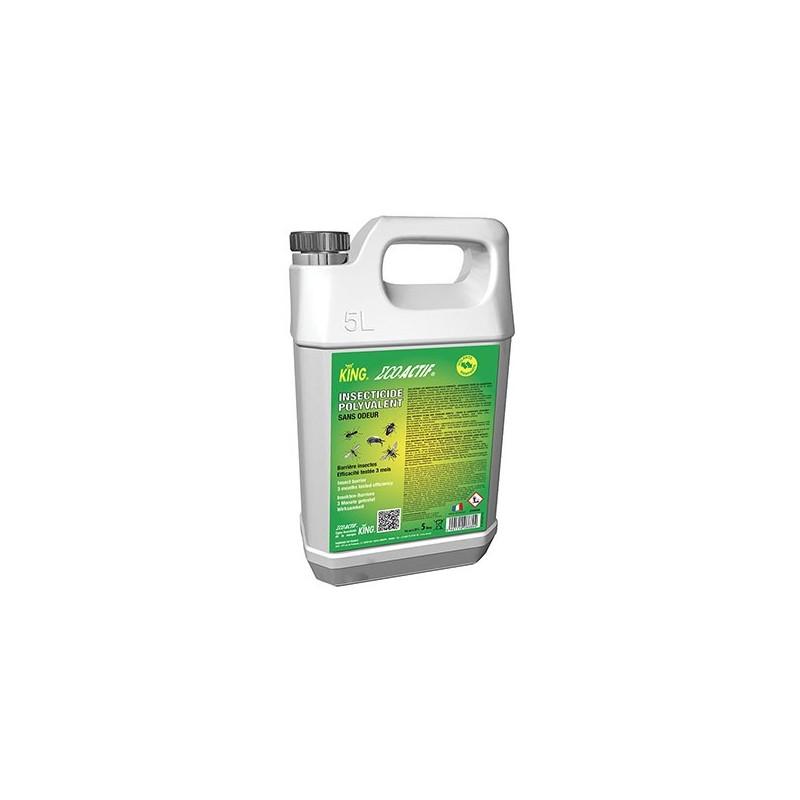 Insecticide liquide actif sur les insectes volant-rampant King 5L