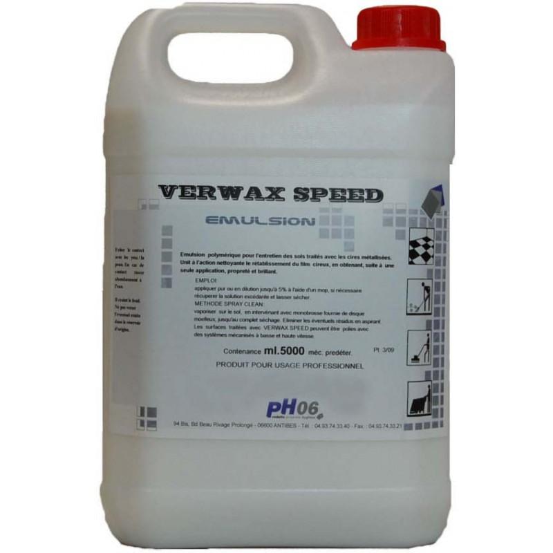 Verwax speed nettoyant cirant 5L