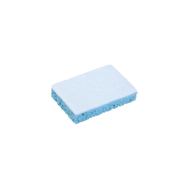 Eponge + tampon abrasif blanc sanitaire Spontex