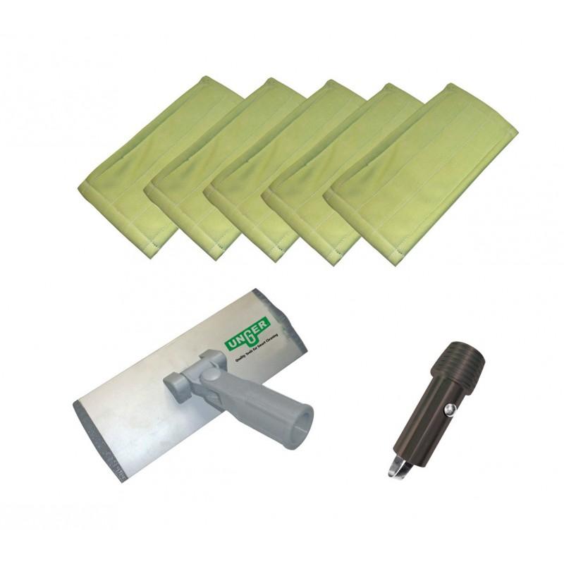 kit de nettoyage vitre interieur Unger