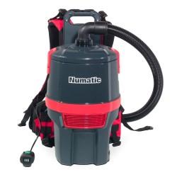 Aspirateur poussières dorsal à batterie lithium Numatic RSB 150 250w