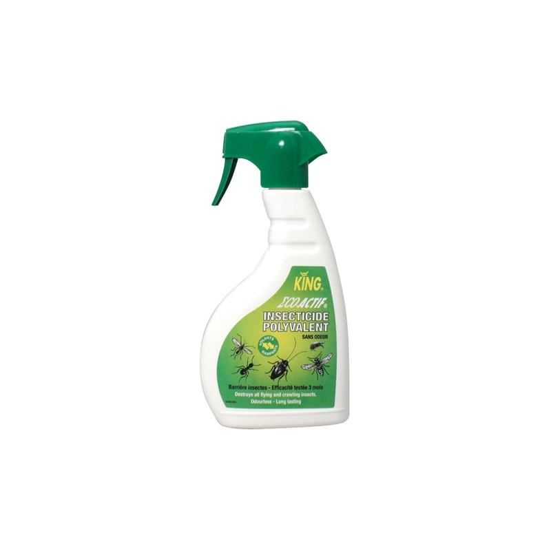Insecticide actif liquide volant-rampant King 500ml