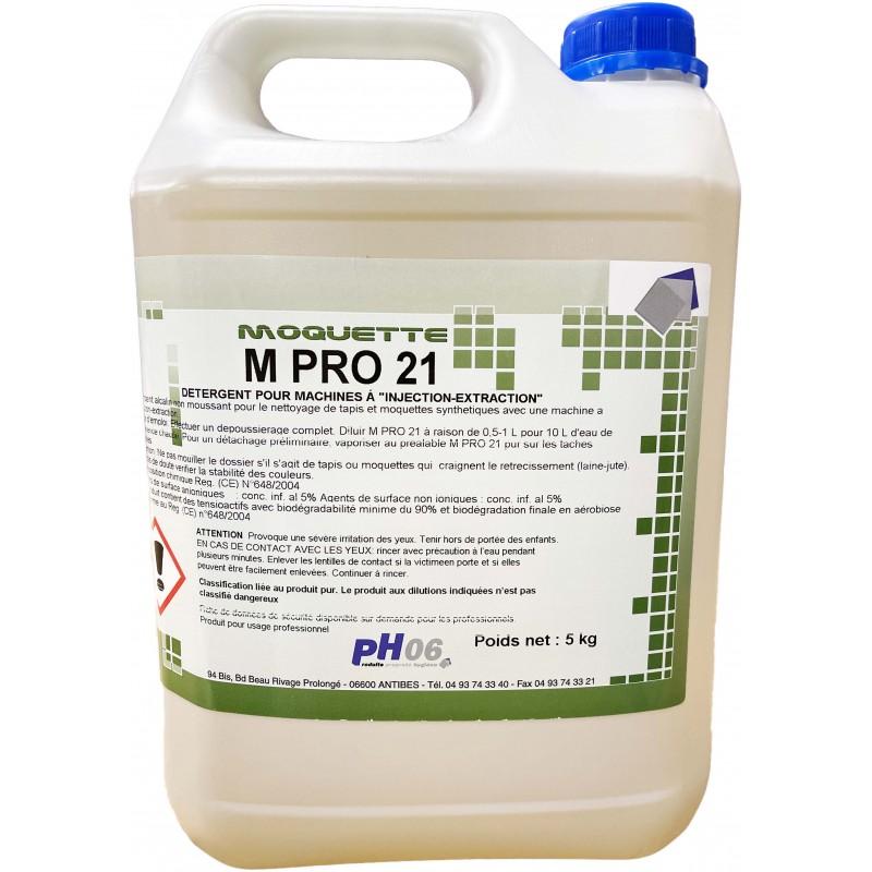 M Pro 21 nettoyant moquette parfumé injection-extraction 5L