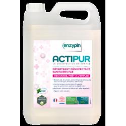 Actipur sanitaire détartrant désinfectant EcoCert 5L