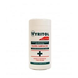 Lingettes désinfectantes et nettoyante Wyritol (x120)