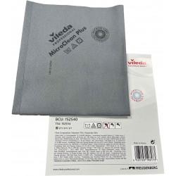 Microfibre non tissée MicroClean Plus grise 40 x 45