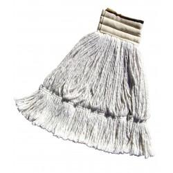 Frange faubert polyester 340g avec ruban