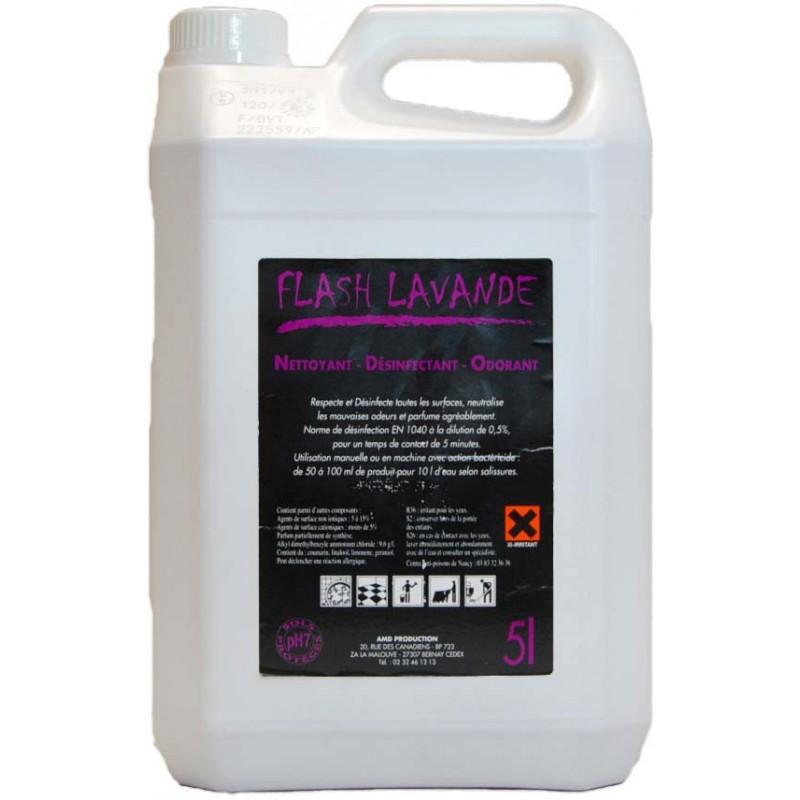 Flash lavande nettoyant odorant 5L