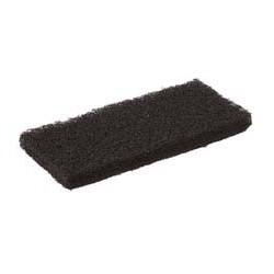 Tampon abrasif noir épais 120 x 250