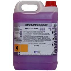 Multiclean décapant puissant d'émulsion et cire 5L