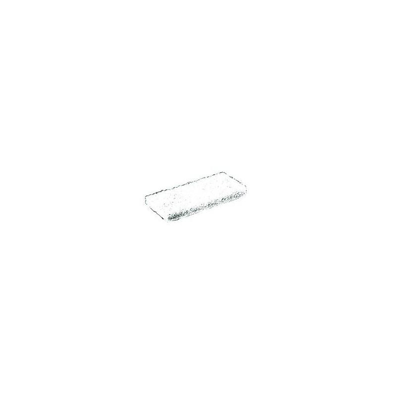 Tampon abrasif blanc épais 120x250