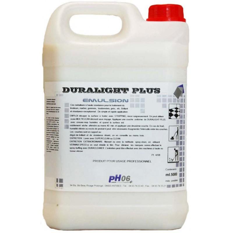 Duralight Plus traitement thermoplastique et sols durs 5L