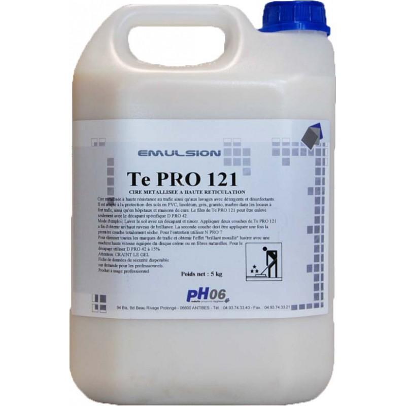 Te Pro 121 traitement ulta résistant thermoplastique et sols durs 5L