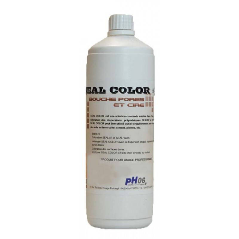 Seal color colorant couleur jaune 1L