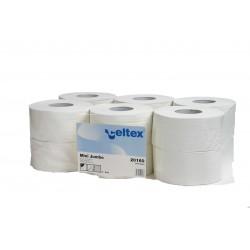 Papier hygiénique 200M écolabel 2 plis pure ouate 10x13 (x12)
