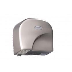 Sèche mains électrique automatique aluminium brossé