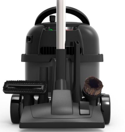 aspirateur poussières avec range-accessoires